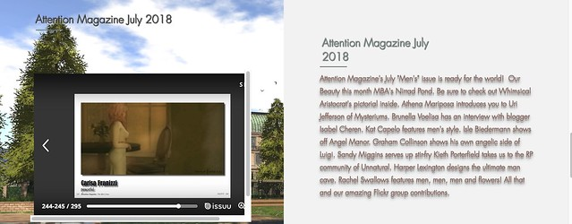 Attention magazine