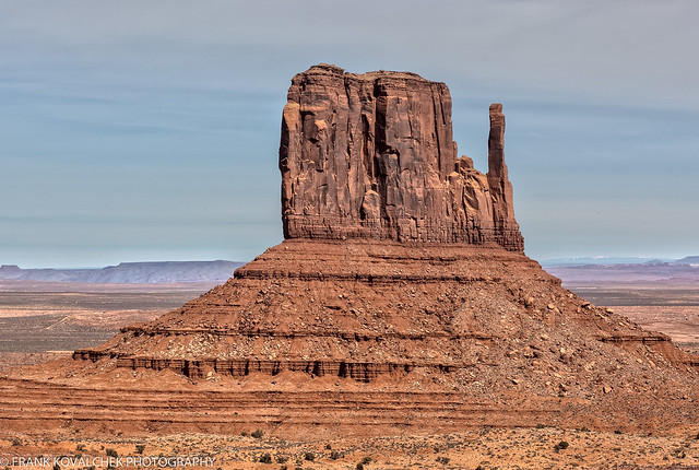Scenery in Monument Valley, AZ