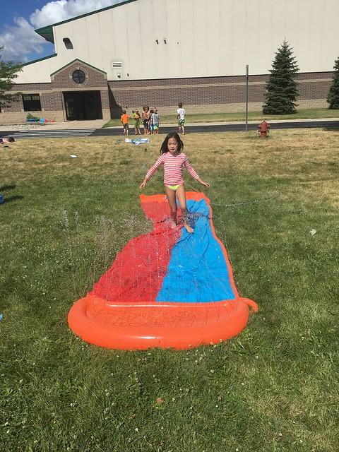 Summer Camp Water day fun/ Balloon Fight