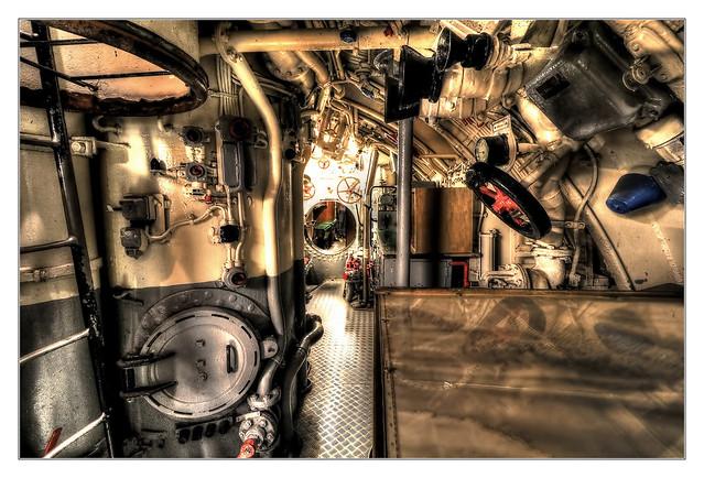 Laboe - TECHNISCHE MUSEUM U-995 Midship