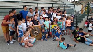 Avec l'école de rugby