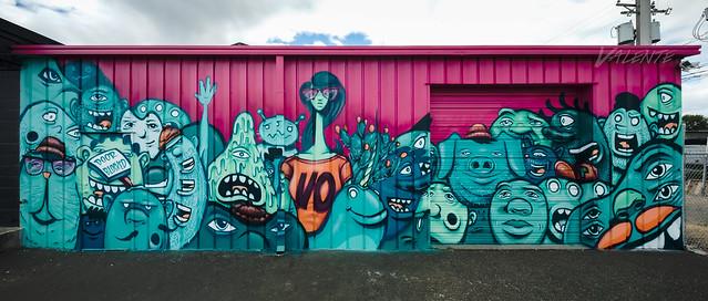 Visual Options mural