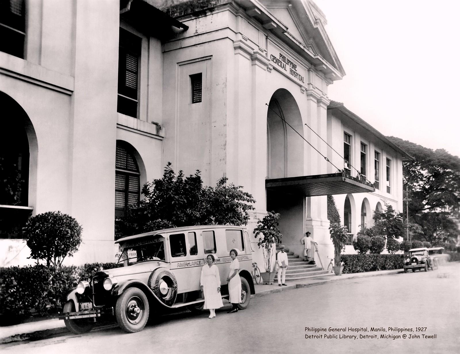 Philippine General Hospital, Manila, Philippines, 1927
