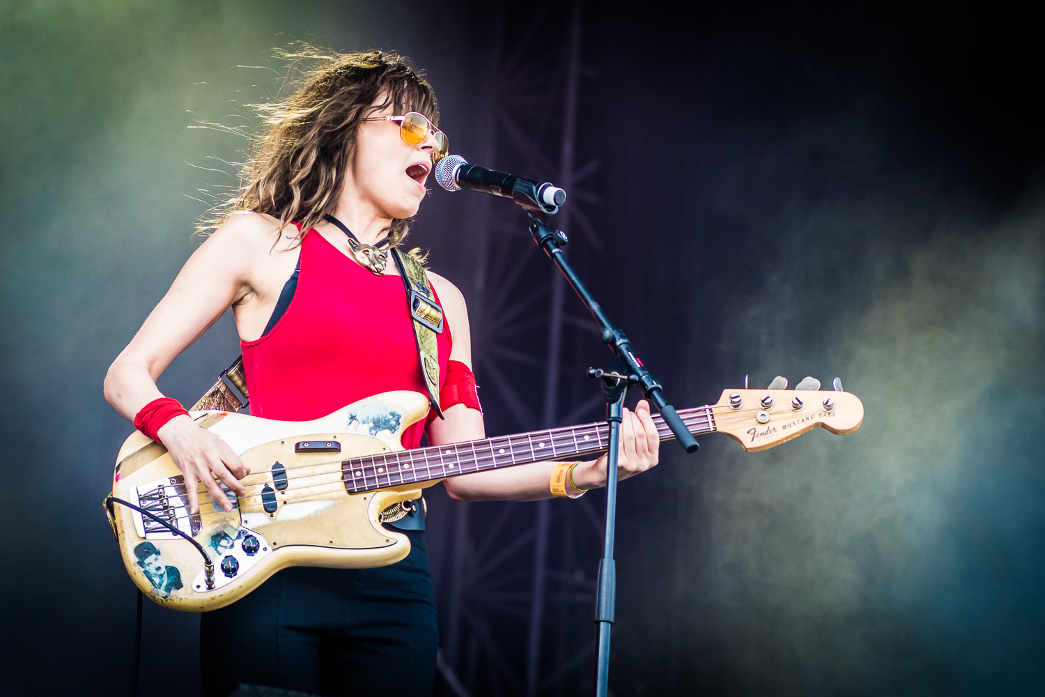 The Last Internationale @ Rock Werchter (© Timmy Haubrechts)