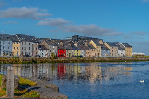 THE CLADDAGH AREA OF GALWAY [THE RAIN STOPPED FOR AN HOUR OR TWO]-141476 | by infomatique