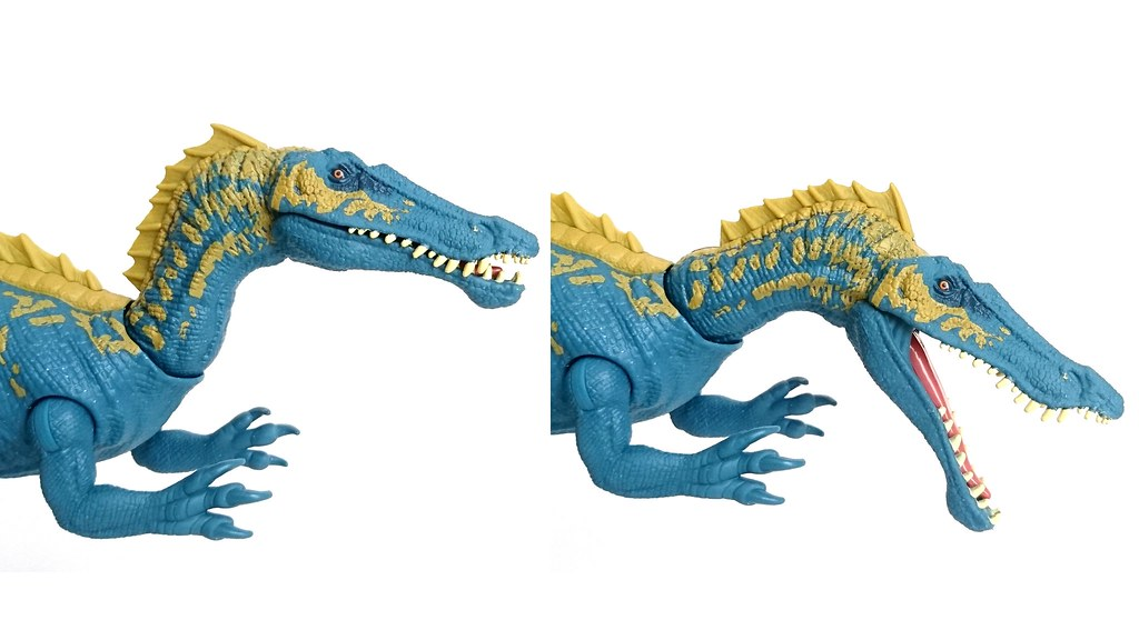 Jurassic World Action Attack Suchomimus Figure Mattel FVJ94