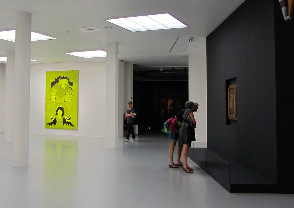 Obras en la exposición