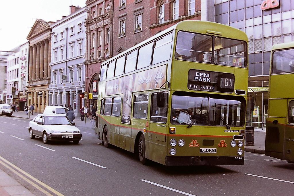 DUBLIN BUS/BUS ATHA CLIATH D696 696ZO