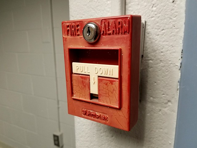 Fire alarm at Montgomery College [02]