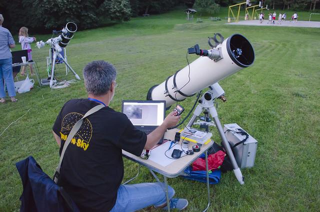 Astrofotografija ručno napravljenim teleskopom