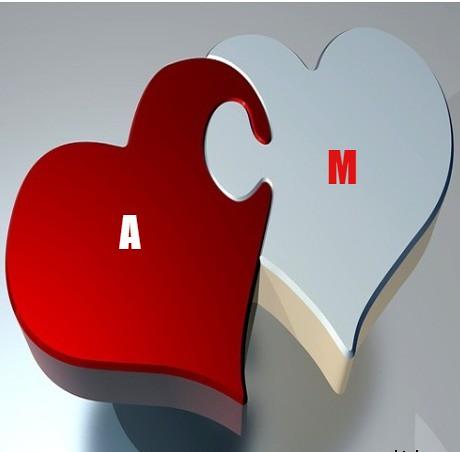 حرف M وحرف A مع بعض