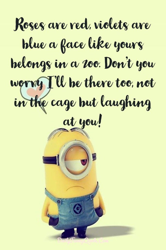 Positive Quotes : Minions Quotes 40 Funny Quotes Minions A ...