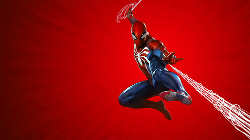 Marvel's Spider-Man PS4 Theme art | by PlayStation.Blog