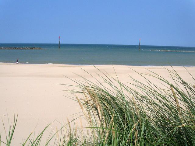 The coast south of Sea Palling