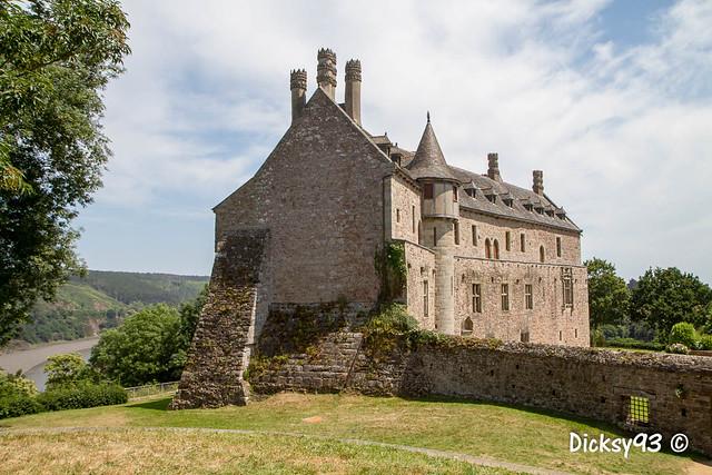 Le château de la Roche-Jagu Côtes d'Armor