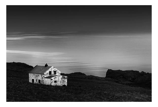 Deserted Cottage near Berunes | Iceland