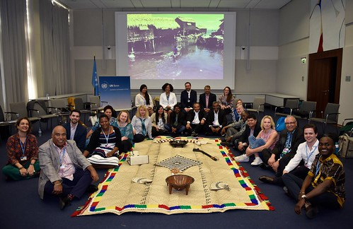 Lakeba Talanoa Group at the May Sessions (SB48) in Bonn, Germany | by COP23 Presidency