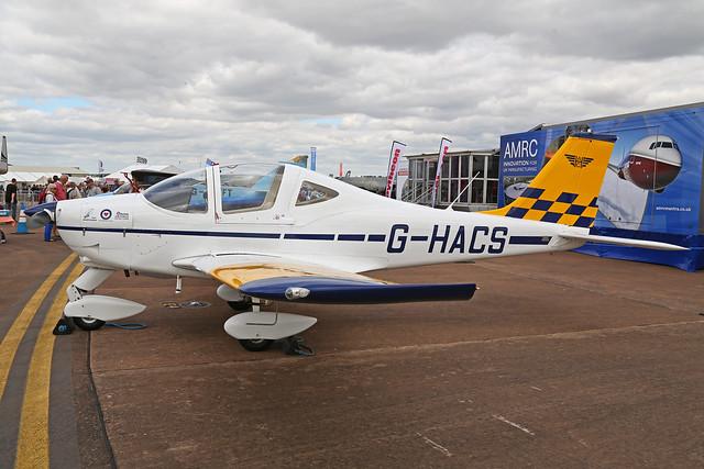 G-HACS Tecnam P2002-JF Sierra Royal Air Force Flying Club RAF Fairford RIAT 14th July 2017