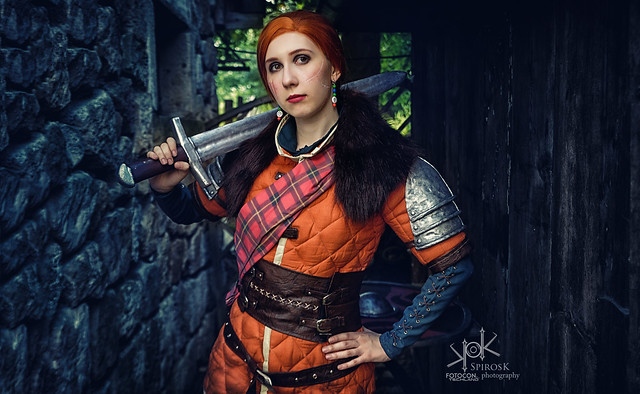 The Witcher Cosplay Portraits: Cerys en Craite, by SpirosK photography