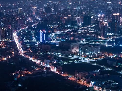 桃園市の空撮夜景 | by YUSHENG HSU