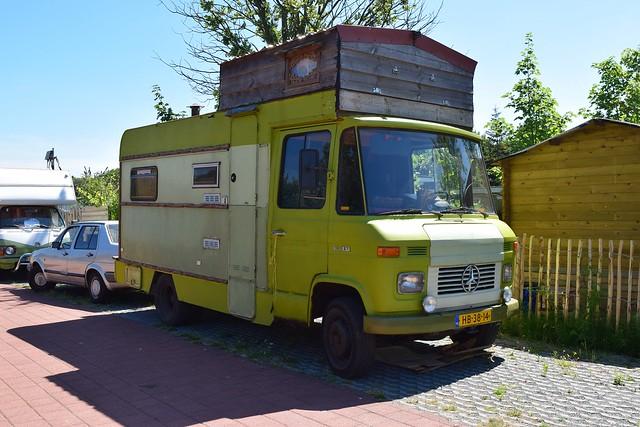 Hanomag-Henschel F46 KA diesel kampeerauto 1974