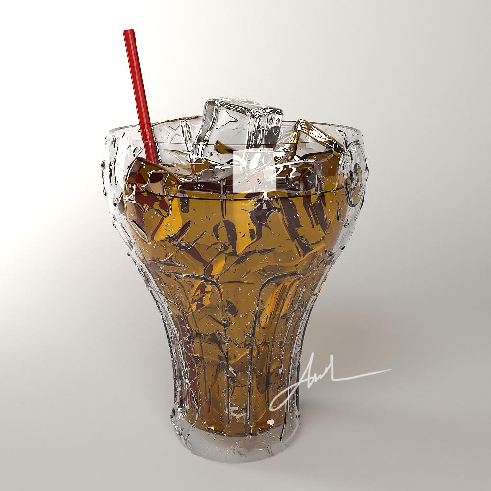 Cốc trà thủy tinh 3D max | Tử Đinh Hương | Flickr