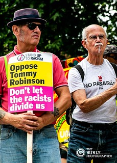 Union Anti Racism Demo July 18 | by The Burly Photographer