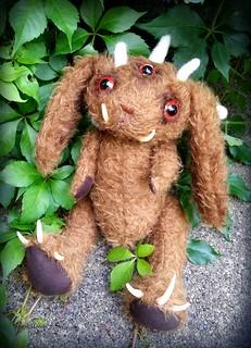 Mohair Monster Bunny