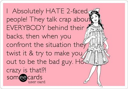 Quotes About Jealousy I Absolutely Hate 2 Faced People Flickr