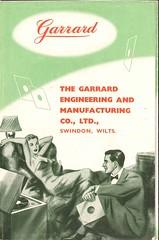 Garrard Brochure 1953
