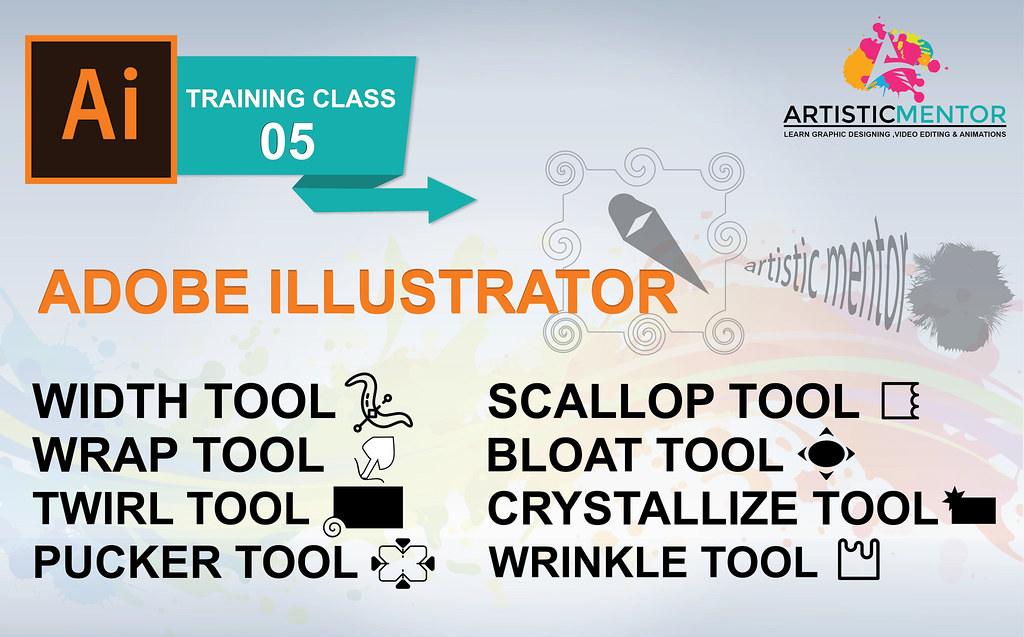 Adobe Illustrator Training Class 5 - How to use Width TOOl… | Flickr