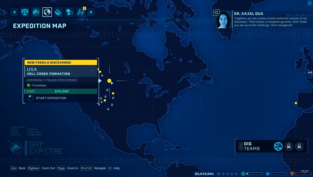 Jurassic World Evolution - Expedition Map | www.oneangrygame… | Flickr