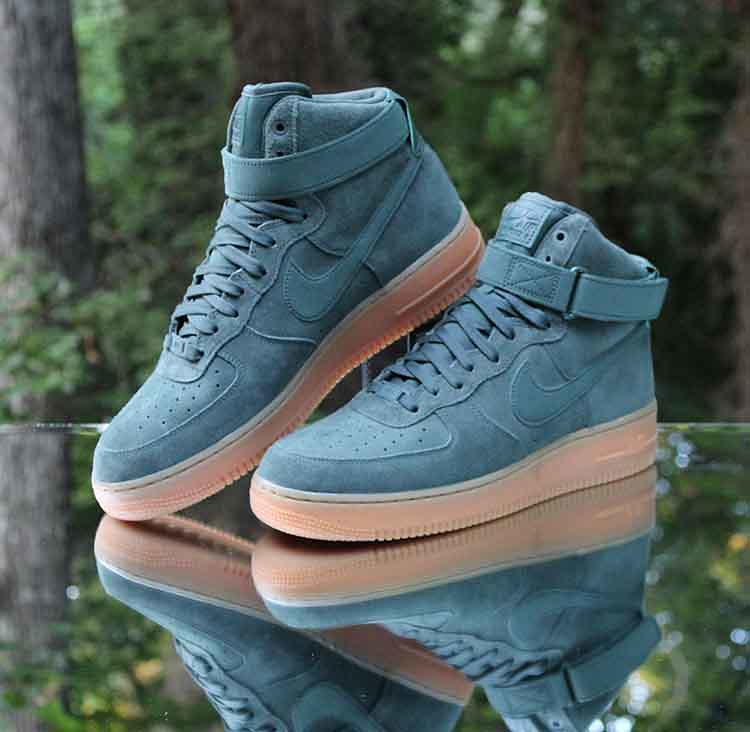 reputable site 3554e ae9fd ... Nike Air Force 1 High 07 LV8 Suede Vintage Green AA1118-300 Men s Size  10