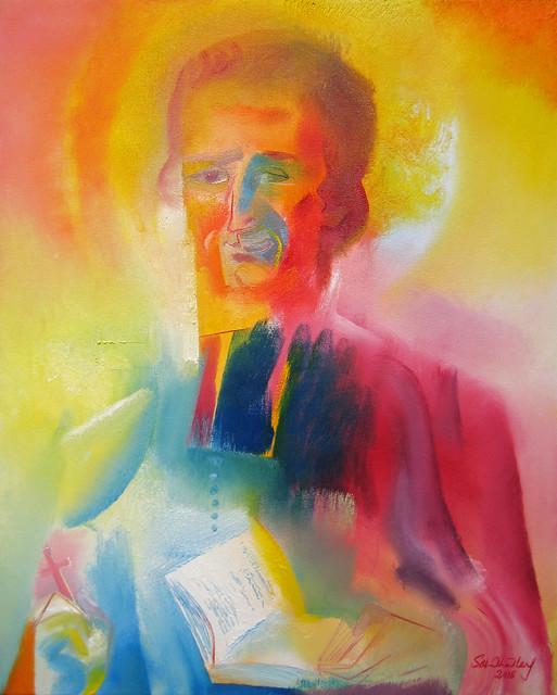 Saint Marcellin Champagnat. 2018 by Stephen B. Whatley