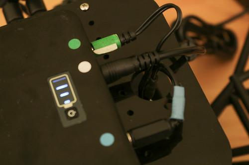 Velodyne battery