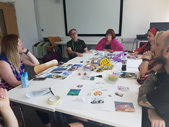 #creativeHE meetup 22 June 18 ManMet using collage in learning and teaching
