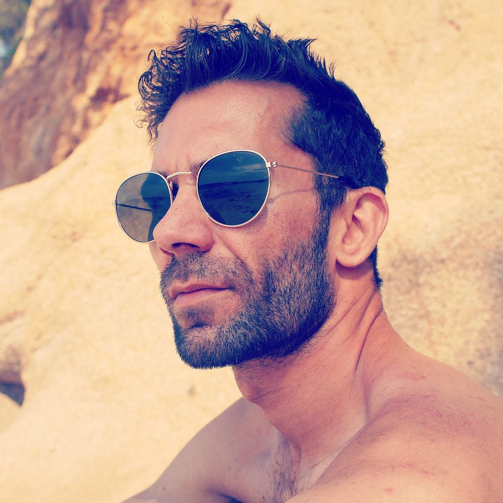 7173bb0f096b ... #portrait #sunglasses #people #beach #model #fashion #style #stylish