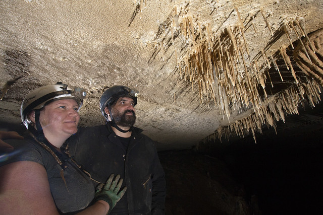 Kelly Schlaht, Matt Eary, Wolf River Cave, Fentress County, Tennessee