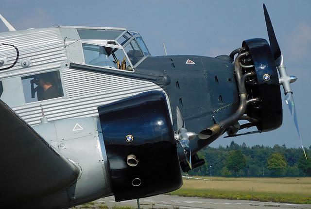 Ju-Air Junkers JU-52 HB-HOP