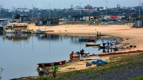 asuncion arena playa beach rio river paraguay riberao paraguai costas orilla latin america landscape paisaje