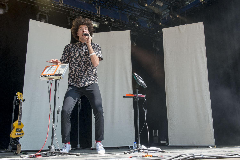 Teme Tan @ Cactusfestival 2018 (Nick De Baerdemaeker)