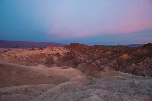 Zabriskie Point  sunrise in Death Valley | by A  Train