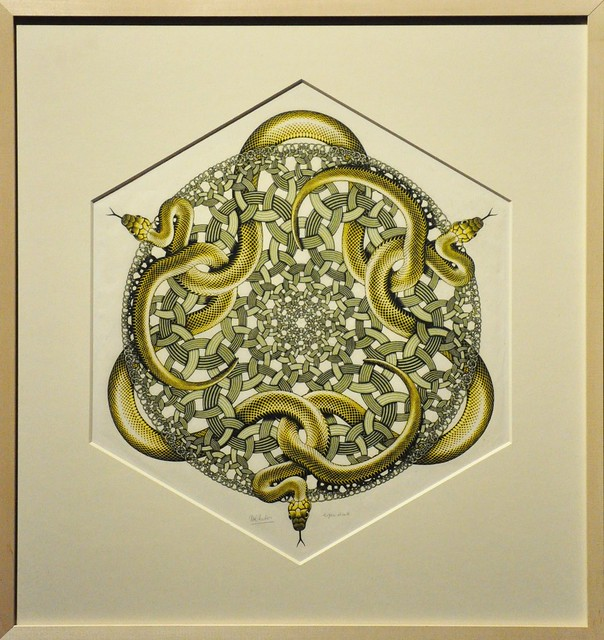 Lisboa - Museu de Arte Popular - Escher retrospective