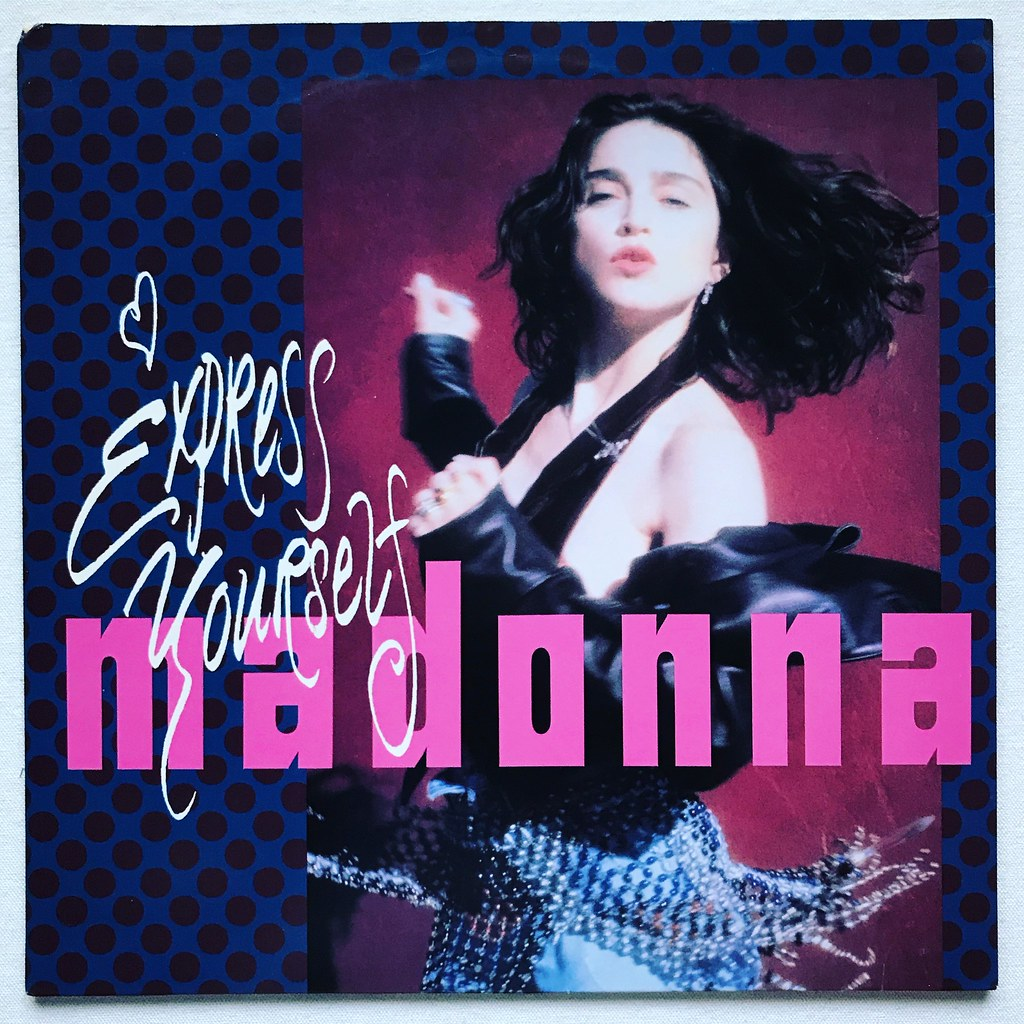 Madonna - Express Yourself (1989) | <a href=
