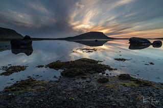 Brimlárhöfði sunset | by Tómas Freyr