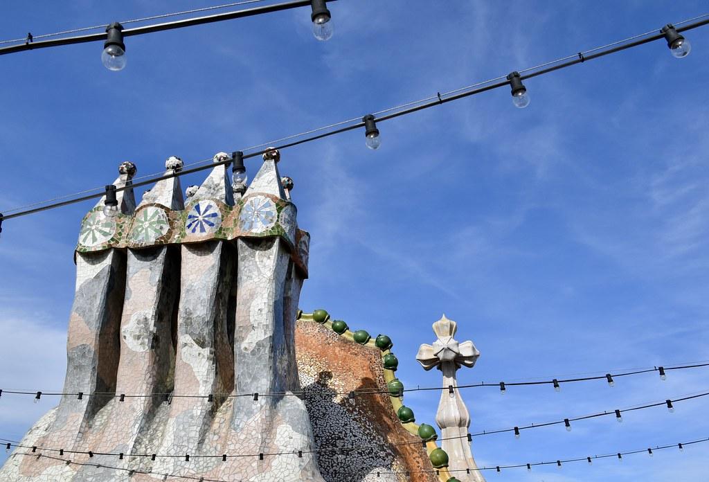 Casa Batllò Rooftop Gaudì Barcelona Silvia Zonetti Flickr