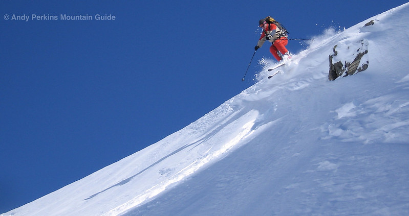 While much of the terrain is intermediate, there are some feisty lines to be had. See me afterwards...