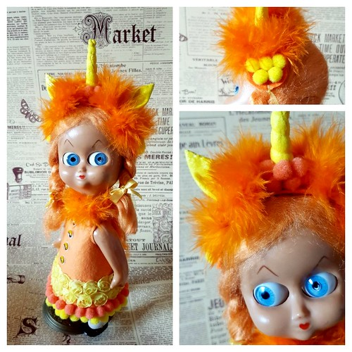 2018-07 Dedo Ginger in my handmade | by Panno Inno and her Blythes