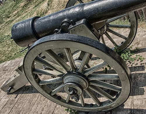 30-Pound Parrott Rifle at Fort Stevens