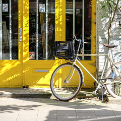 Yellow afternoon, Amsterdam